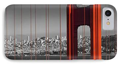 Downtown San Francisco iPhone Cases