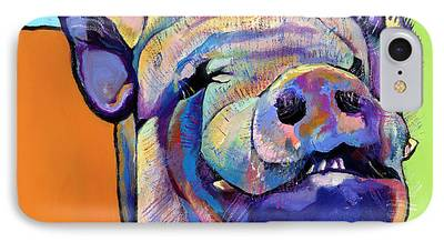 Animal Cards Paintings iPhone Cases