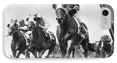 Horse Racing Photographs iPhone Cases
