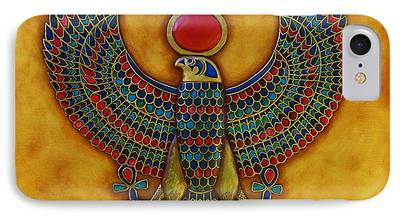 Horus Mixed Media iPhone Cases