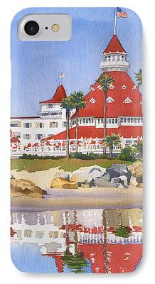 California Paintings iPhone Cases