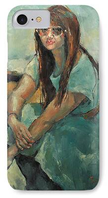 Becky Kim Painter iPhone Cases
