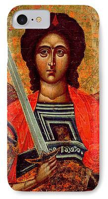 Greek Icon Paintings iPhone Cases