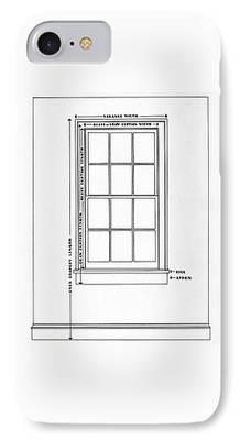 Glass Wall Digital Art iPhone Cases