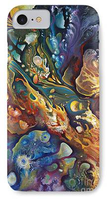 Plankton Paintings iPhone Cases