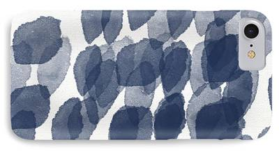 Patterned Mixed Media iPhone Cases