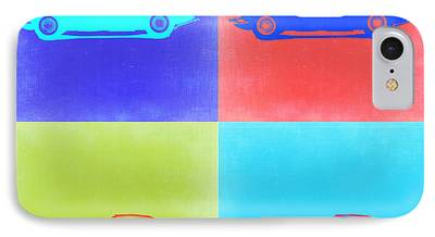 Concept Cars Mixed Media iPhone Cases