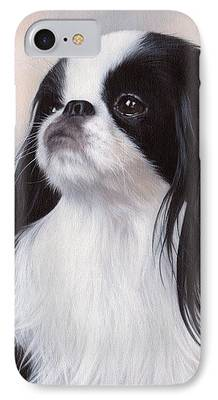 Japanese Chin iPhone Cases