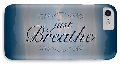 Just Breathe iPhone 7 Cases