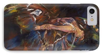 Metamorphosis Paintings iPhone Cases
