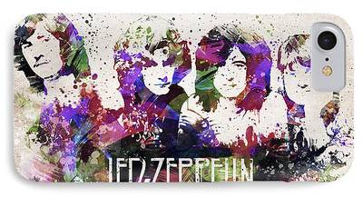 Famous Band iPhone Cases