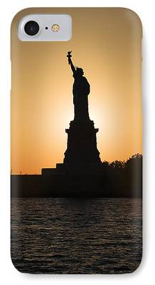 Goddess Of Liberty iPhone Cases