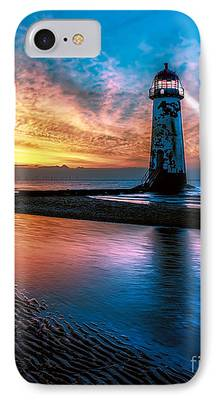 Lighthouse Digital Art iPhone Cases