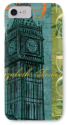 London Map iPhone Cases