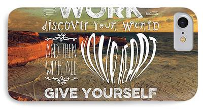 Self Discovery Digital Art iPhone Cases