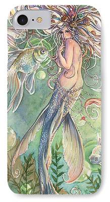 Mermaid iPhone Cases