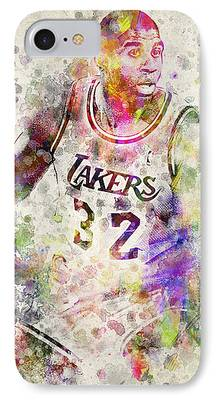 Magic Johnson iPhone Cases