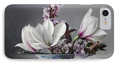 Magnolia iPhone Cases