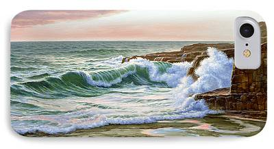 Maine Seascapes iPhone Cases