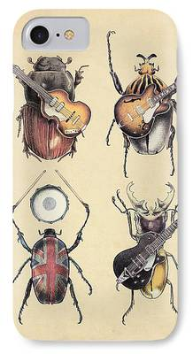 Insects iPhone 7 Cases