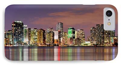 Miami Skyline IPhone 7 Cases