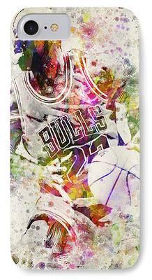 Dunk Digital Art iPhone Cases