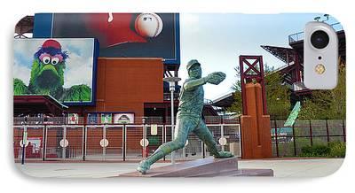 Philadelphia Phillies Stadium Digital Art iPhone Cases