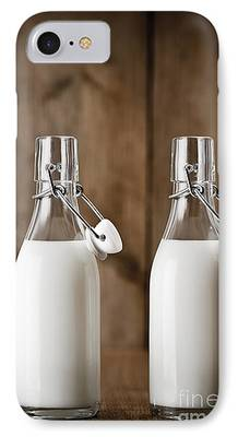 Pint Milk Bottle iPhone Cases