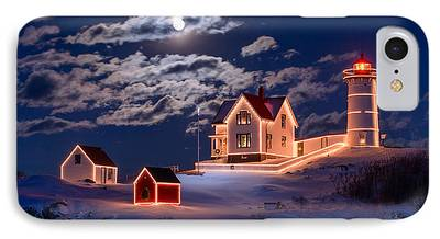 Nubble Lighthouse iPhone Cases