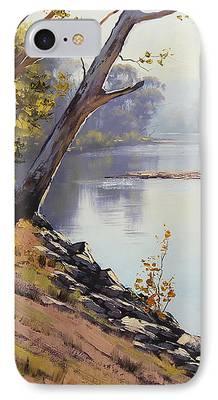 Beautiful Creek Paintings iPhone Cases