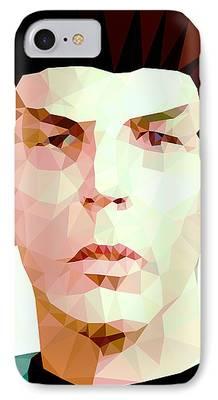 Contemporary Digital Art iPhone Cases