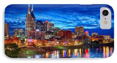 Nashville Skyline iPhone 7 Cases