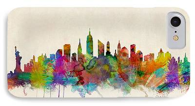 Skylines iPhone Cases