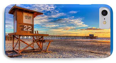 Southern California Sunset Beach iPhone Cases