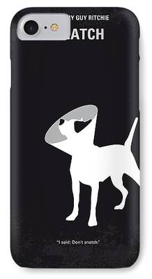 Boxer Digital Art iPhone Cases