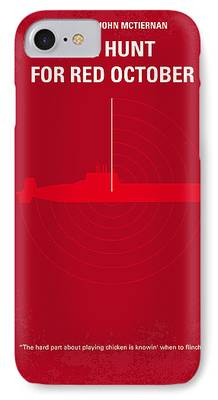 Red Digital Art iPhone Cases