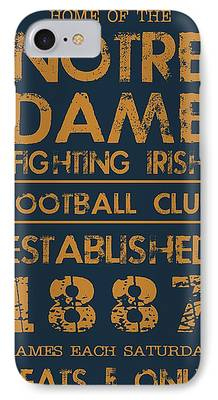 Notre Dame IPhone 7 Cases