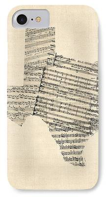 Old Sheet Music iPhone Cases
