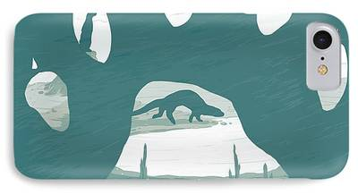 Otter Digital Art iPhone Cases