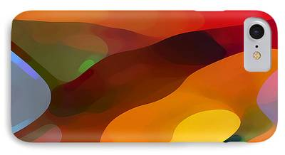 Nature Abstract Digital Art iPhone Cases