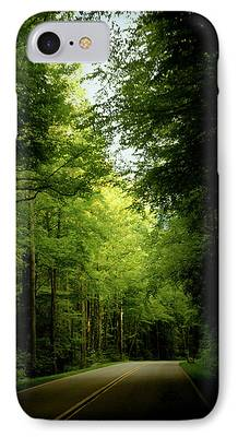 Smokey Mountain Drive iPhone Cases