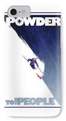 Skiing iPhone Cases
