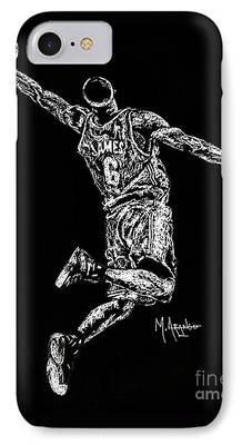 Miami Drawings iPhone Cases