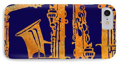 Saxophone iPhone 7 Cases