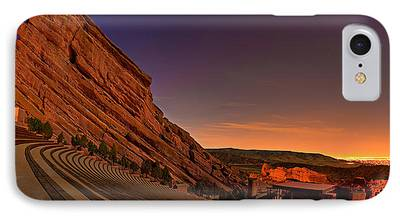 Red Rock iPhone Cases