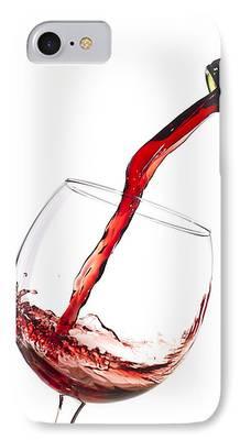 Wine Bottles Photographs iPhone Cases