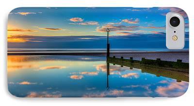 North Sea Digital Art iPhone Cases