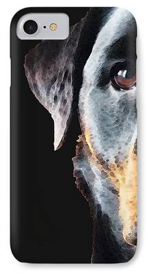 Rottweiler Puppy iPhone Cases