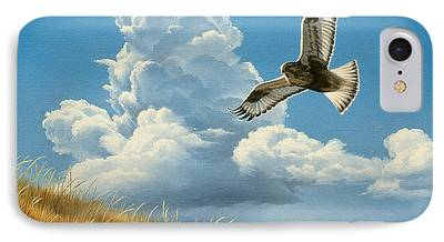Flying Hawk iPhone Cases