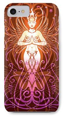 Gaia Digital Art iPhone Cases